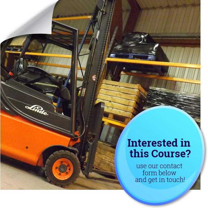 Autec Industrial Counterbalance Reach Forklift Training